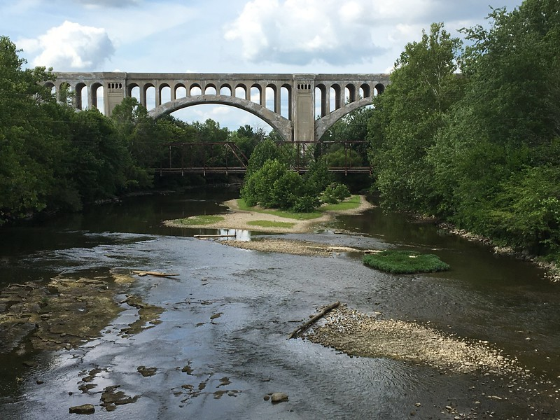 Big Four Railroad Bridge - Sidney Ohio