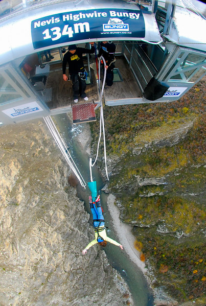 Nevis Bungy in Queenstown