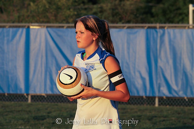 DHS Girls Soccer 08-28-2012
