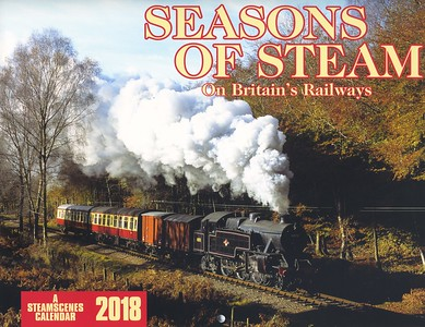 NILS HUXTABLE  Steamscenes 2018 train Calendars SOLD OUT