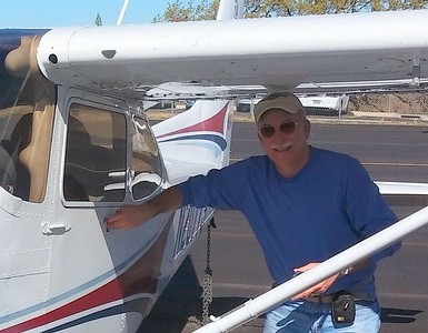 Took my former instructor (Phil Tarver) flying today