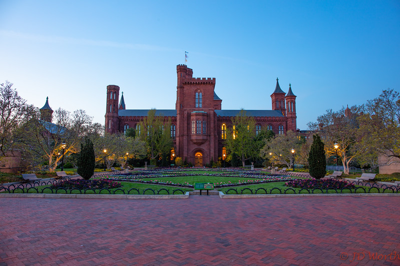 Smithsonian Institution Building (The Castle) Garden - H9
