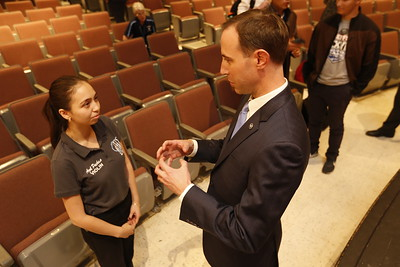 Texas Secretary of State Visits Chapin High School