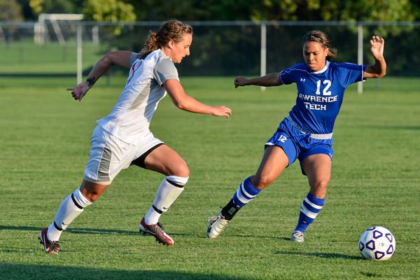 8/28/12 Women's Soccer vs. Lawrence Tech