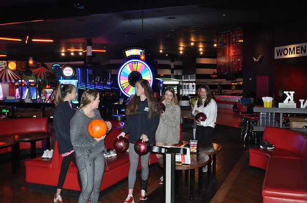 Team Bowling Party 12-9-18