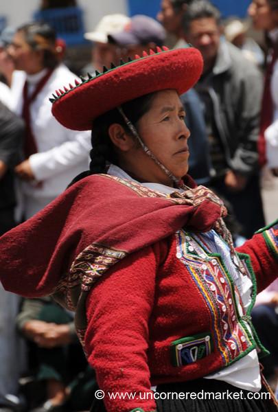 Proudly Marching - Cusco, Peru