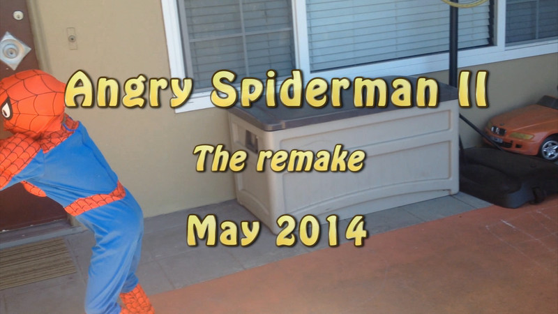 Angry Spiderman II