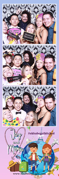 Jay + Mara Wedding Photobooth