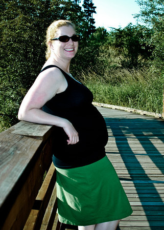 Meaghan's Bump - Orchard Park (July 2012)