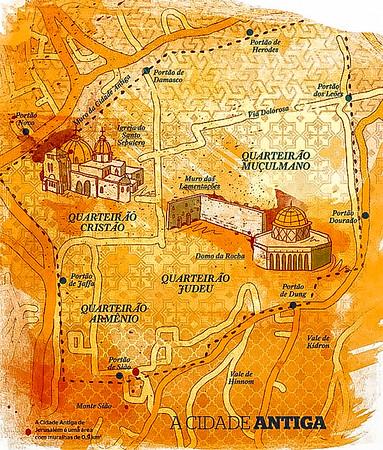 Jerusalém - a cidade antiga