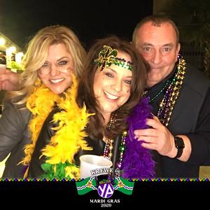 YA Mardi Gras Party 2.22.20 @ Jung Hotel