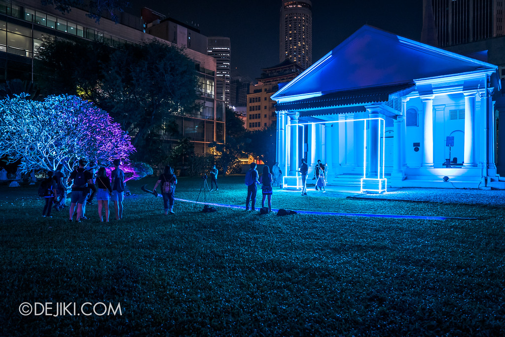 Singapore Night Festival 2017 / Secrecy by Ratpack 7 overview