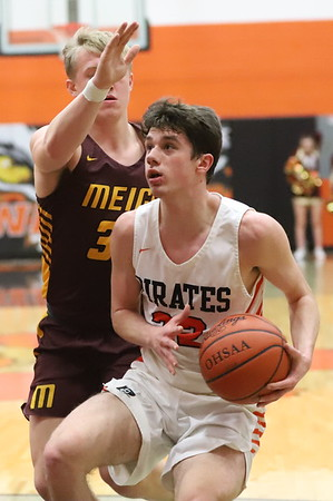 23 Boys Basketball:  Wheelersburg vs. Meigs 2020