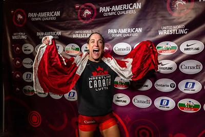 WW 68 kg Danielle Lappage