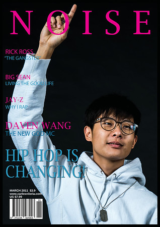 Harry Zhang - Magazine Cover