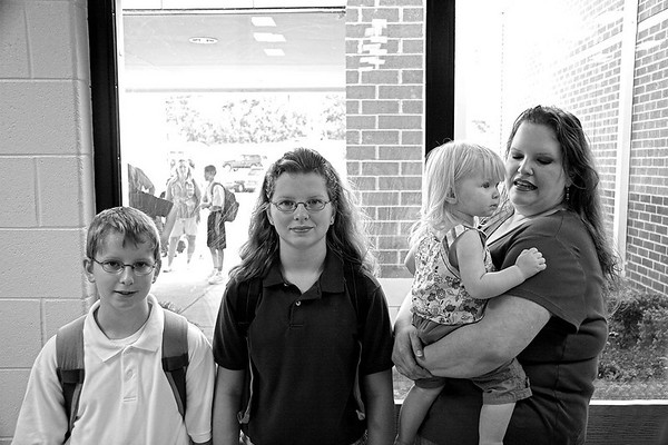 070813 - First day at new middle school