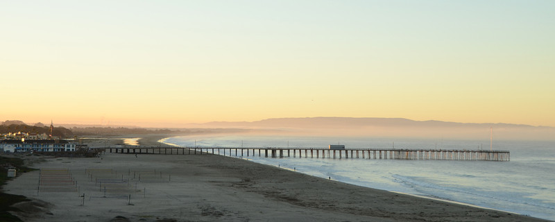 A new morning on Pismo Beach