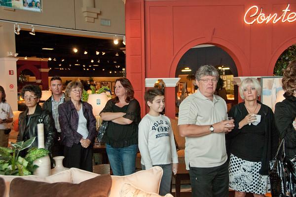Jane Seymour @ Kane Furniture 12-11