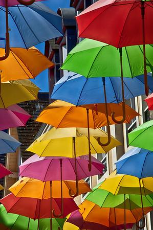 Les parapluies d'La Ferté