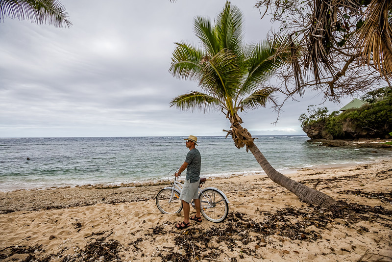 David Stock jr of Divergent Travelers adventure travel blog in Fiji