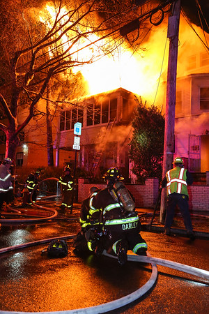Passaic NJ 4th alarm, 165 & 163 Harrison St. 02-01-17