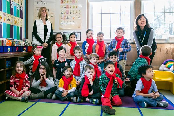 Baker Kindergarten Holiday Concert 2017