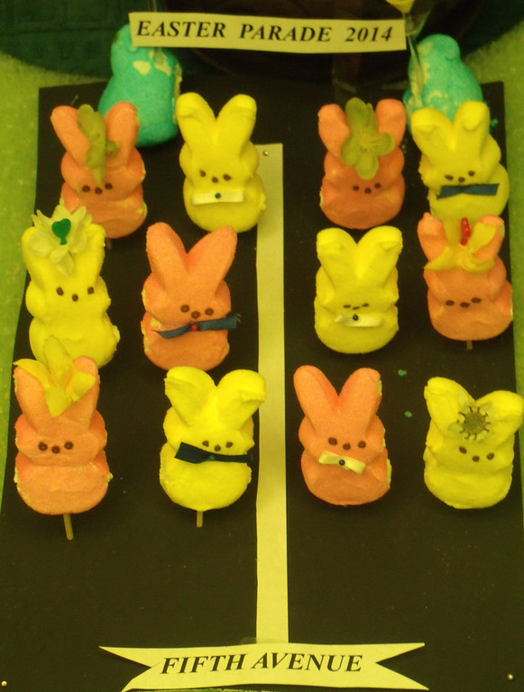 . All my Peeps Easter Parade on 5th Avenue  (Ruth Wilkinson, Age 84)