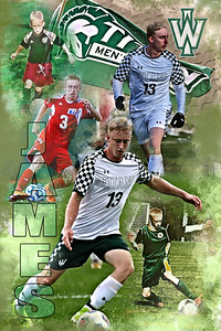 2021 James Soccer Collage