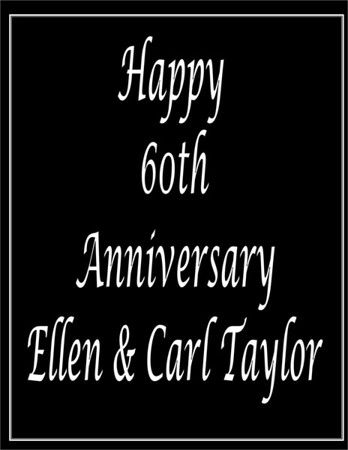 2019 SOS - Ellen Taylor 60th Anniv