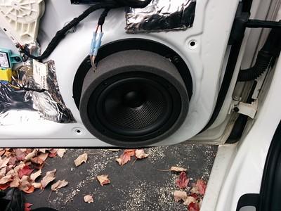 2010 Audi A4 Front Door Speaker Installation - USA