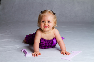 Mackenna First Birthday Portrait