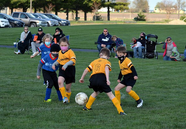 Princeton Youth Soccer League, games of April 13, 2021