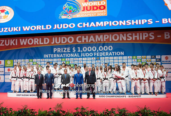 Teams 2017 Suzuki World Judo Championships - Budapest