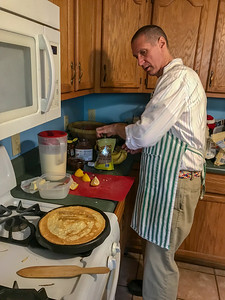 French Class: Crêpes at Mr. Buddy's House