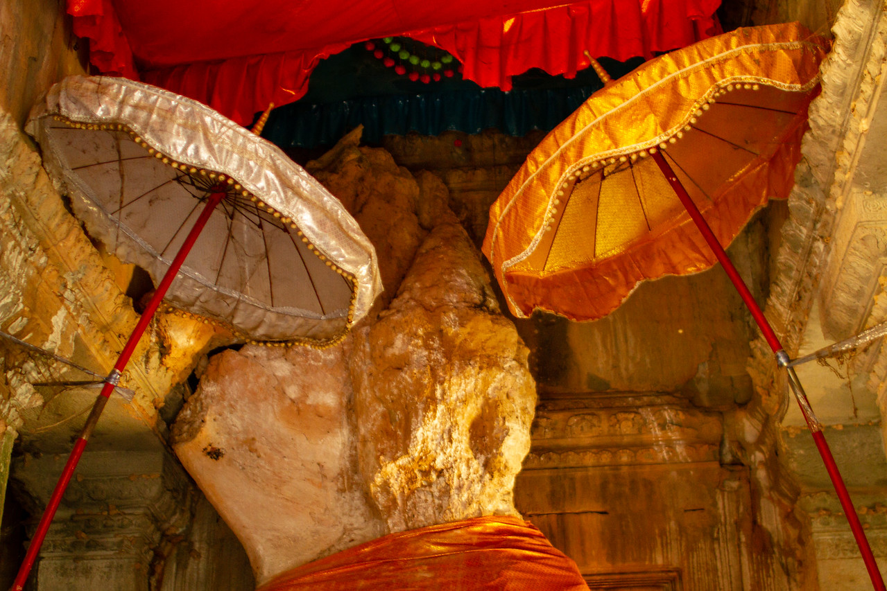 The Termite Buddha at Angkor Wat