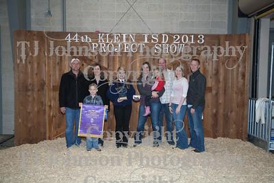 2013 Klein ISD Livestock Show Awards
