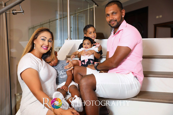 Denesh & Janelle Family 2019