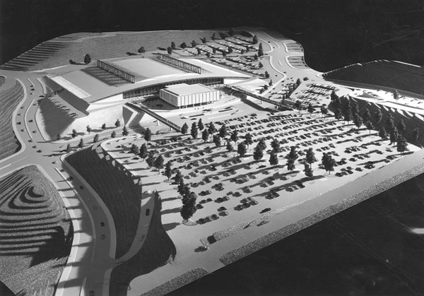 1966, Elysian Park Convention Center Model