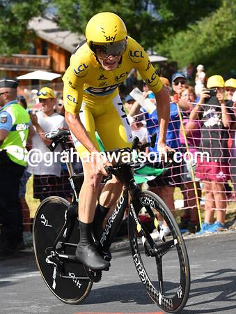 Tour de France Stage 18: Sallanches > Megeve, 17kms (ITT)