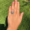 1.75ctw Edwardian Toi et Moi Old European Cut Diamond Ring  56