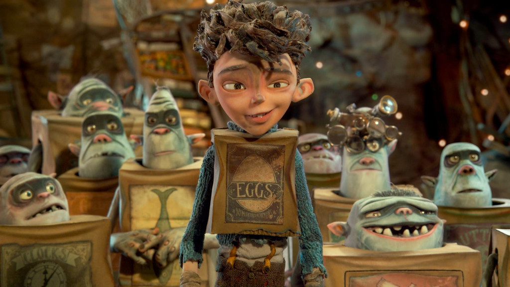""". In this image released by Focus Features, Eggs, voiced by Isaac Hempstead Wright, appears in a scene from \""""The Boxtrolls.\"""" The film was nominated for a Golden Globe for best animated feature on Thursday, Dec. 11, 2014. The 72nd annual Golden Globe awards will air on NBC on Sunday, Jan. 11. (AP Photo/Focus Features)"""