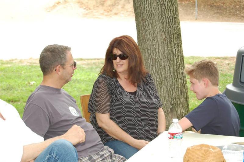 Eric Handel, Marsha Niles Slowinski and son Brett