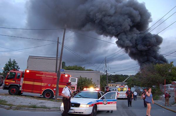 August 24, 2006 - 5th Alarm - Hyde Ave / Nashville Ave
