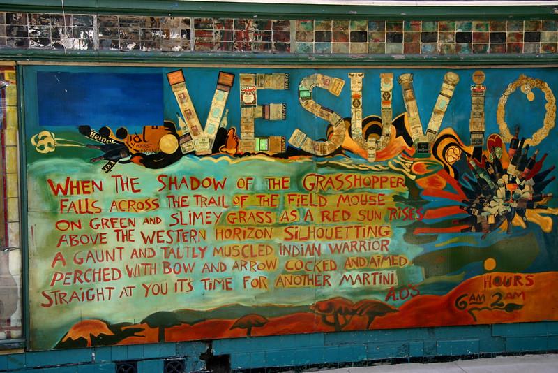 Bar Vesuvio.