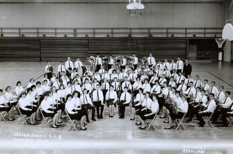 UJHS Band-Mr Curry 1961