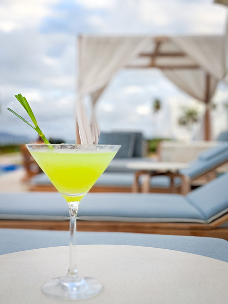 lemongrass cucumber martini anguilla pool 2.jpg