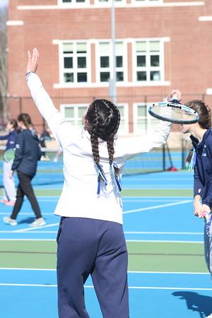 FHS Girls Tennis 2018