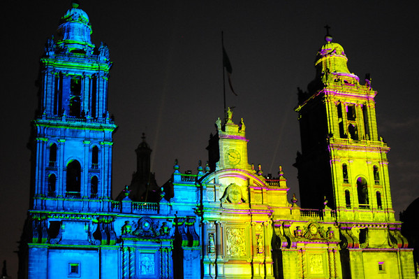 Mexico City Lightshow
