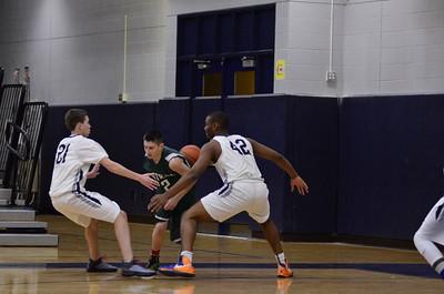 OE Sophomore boys basketball Vs Plainfield  Central 2015