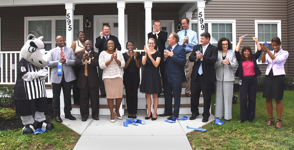 Officials attend opening for Stadium Estates. 8/10/2016